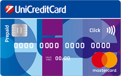 Carta prepagata Unicredit UniCreditCard Click