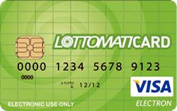 Carta prepagata Lottomatica Lottomaticard